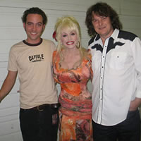 Justin Rutledge and well known friend………(Also Dolly Parton)