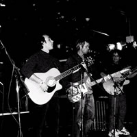 At The Cavern Club 2003 with Tam Johnstone and assorted friends